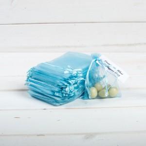 Marturii nunta saculeti bleu mari