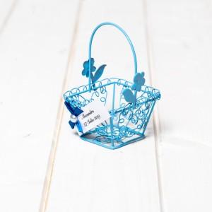 Marturii botez cosulet sarmulita bleu