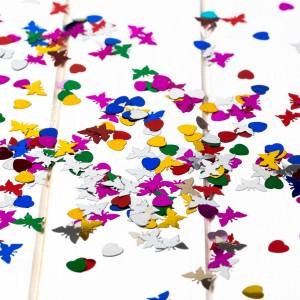 Confetti multicolor petrecere botez