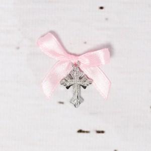 Cruciulite botez biserica cu fundita roz