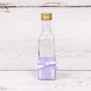 Sticluta de mir cu decor lila