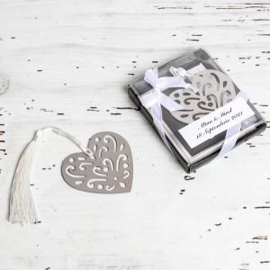 Marturii de nunta semn de carte inima