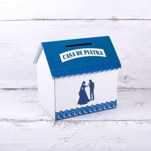 Casuta dar nunta albastra
