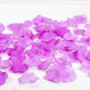 Petale trandafiri lila nunta