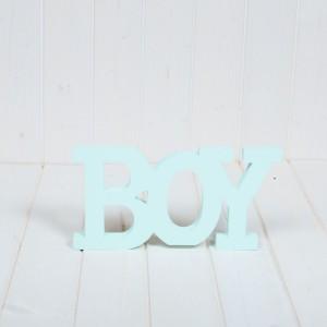 Decor botez Boy bleu