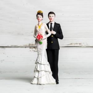 Figurina tort nunta mire si mireasa